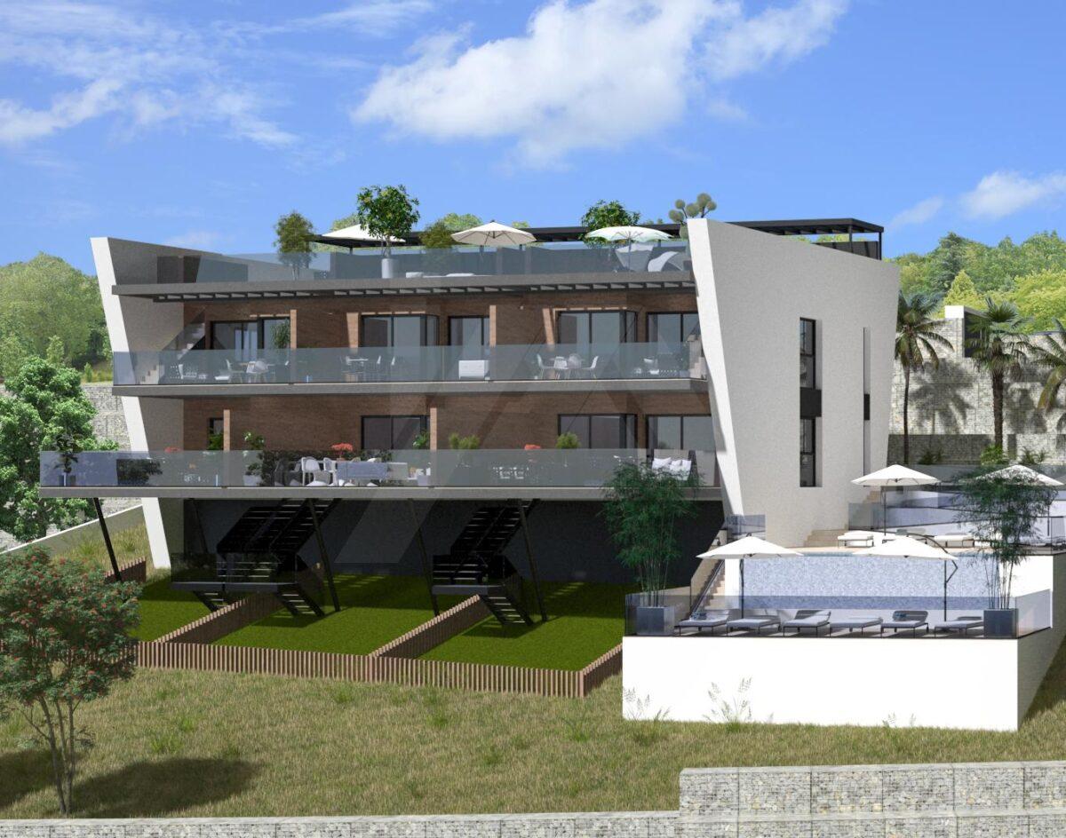 Апартаменты-бунгало в Finestrat 11011-031