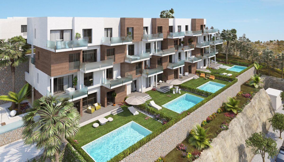 Penthouse Apartment in Las Ramblas PATLPH3